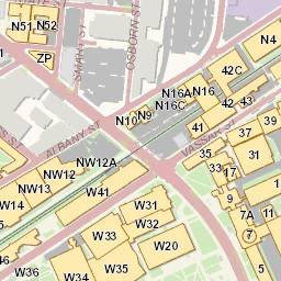 MIT Campus Map on